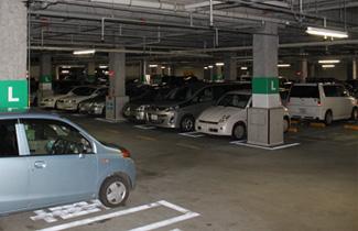隣接SC無料駐車場